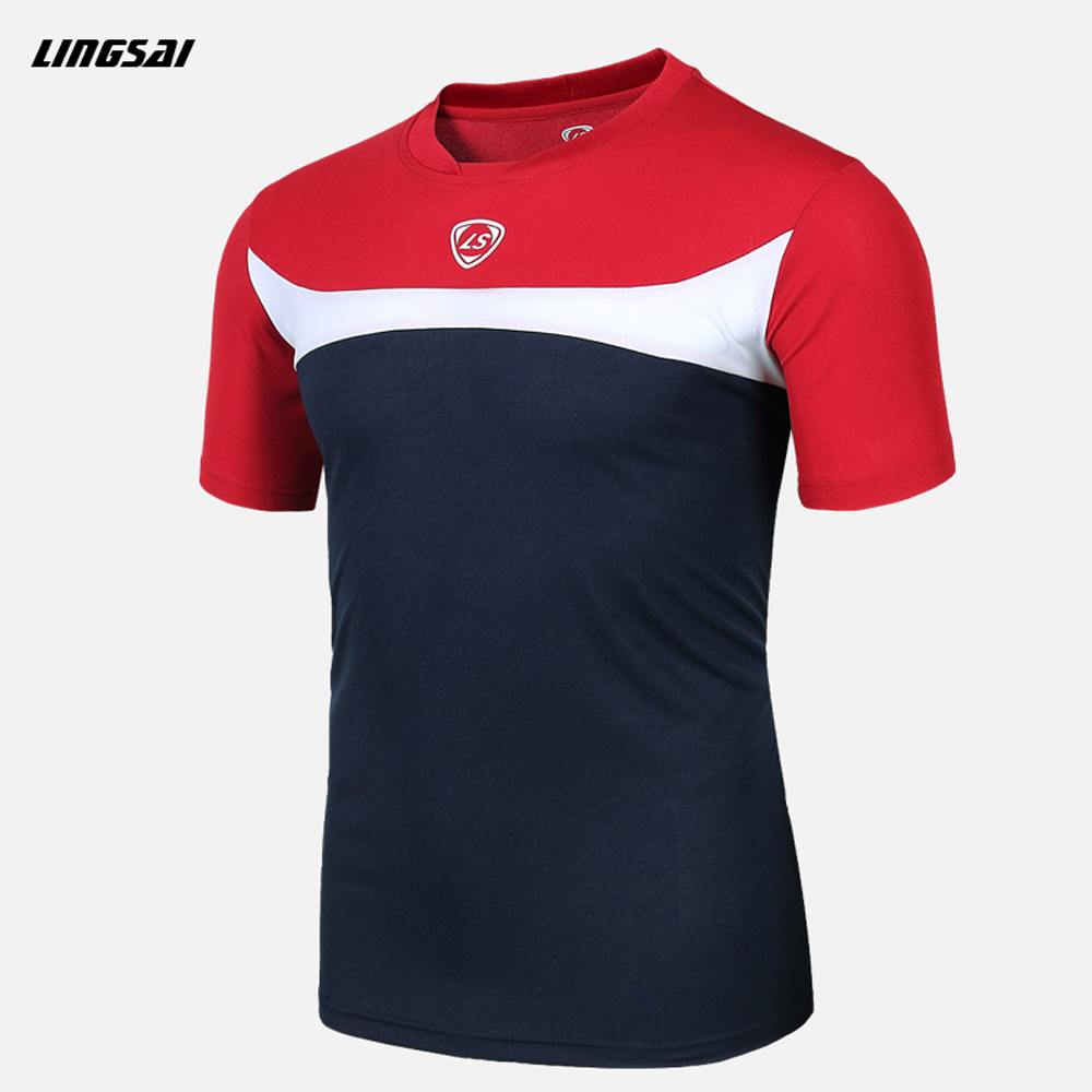 Ls Brand Summer Style Men Quick Dry T Shirts Homme