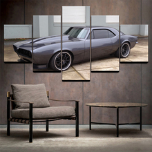 5 Piece HD Canvas Art Painting –  American Muscle Cars Chevrolet Camaro  C5V5