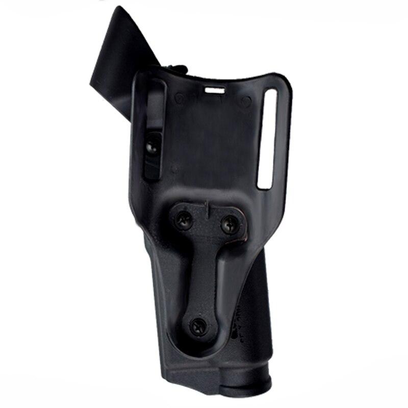 Glock Pistol Waist Holster Light Bearing Gun Case For Glock 17 19 22 23 31 32 Mini Red Dot Laser Sight For 20mm Rail Gun in Holsters from Sports Entertainment