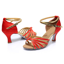 Brand New Women's Dance Shoes Heeled Tango Ballroom Latin Salsa Dancing Shoes For Women Hot Sales