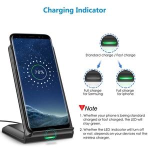 Image 2 - CHOETECH Wireless Charging 10W QI Fast Wireless Charger stand Wireless Charging Station For iPhone 12 Samsung huawei xiaomi