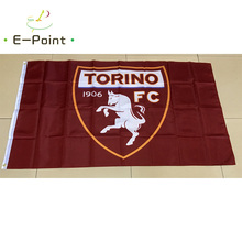 Italy Torino FC 3ft*5ft (90*150cm) Size Christmas Decorations for Home Flag Banner Type A Gifts