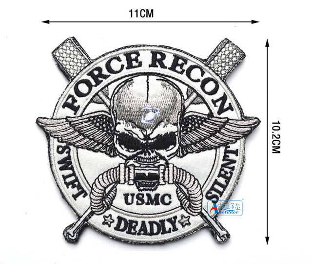 Online Shop Force Recon Mc Military Marine Swift Deadly Silent