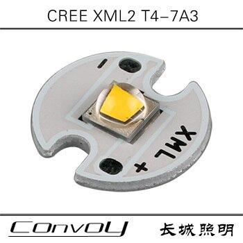 CREE XML2 теплый белый T4 7A высокое Мощность светодио дный фонарик светодио дный лампа