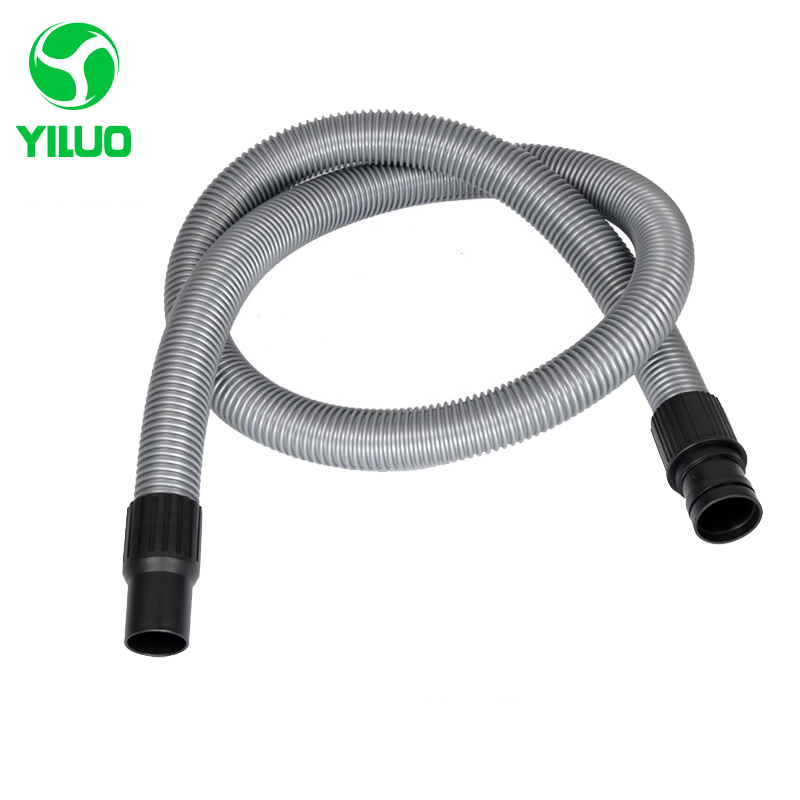Inner Diameter 40mm gray High Temperature Flexible EVA Hose +ABS connector Of Industrial Vacuum Cleaner parts 10m inner diameter 40mm black hose with high temperature flexible eva vacuum cleaner hose of industrial vacuum cleaner