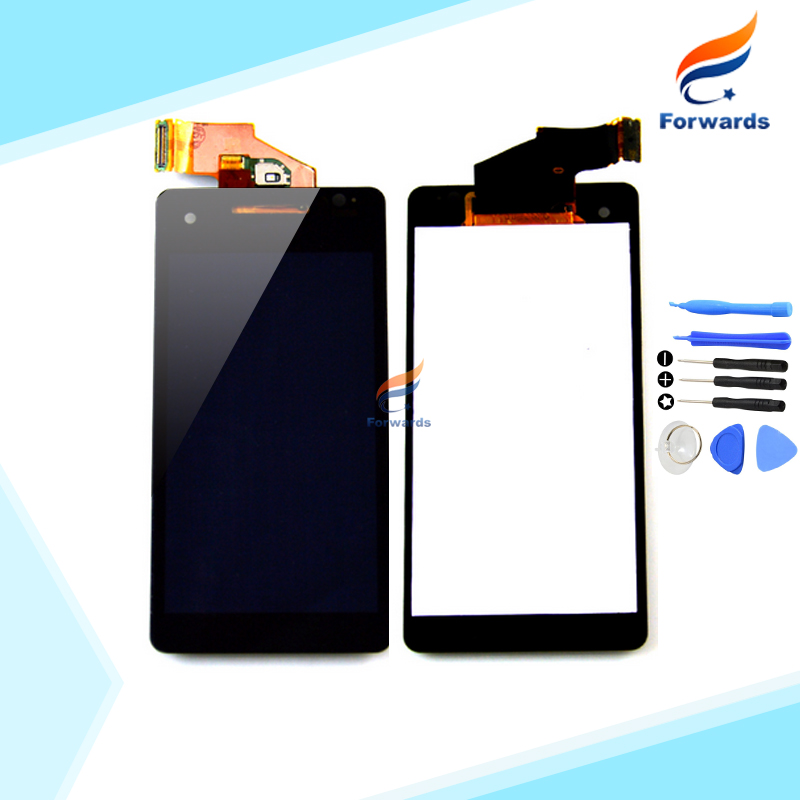 100% New Tested Black LCD Display for Sony Xperia V LT25 LT25i Touch Screen Digitizer with Tools Assembly 1 piece free Shipping 100% tested new lcd screen for jiayu s1 lcd display digitizer touch screen assembly black free shipping