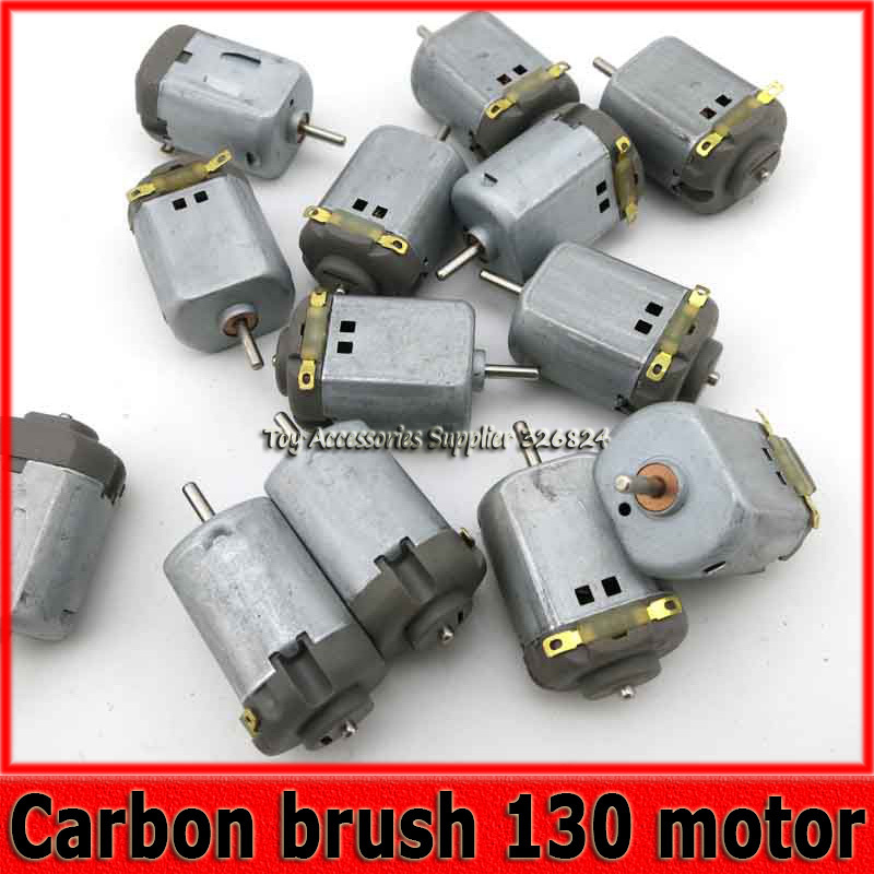 Carbon Brush 130 Dc High Speed Small Motor 3v 6v High Torque Toy