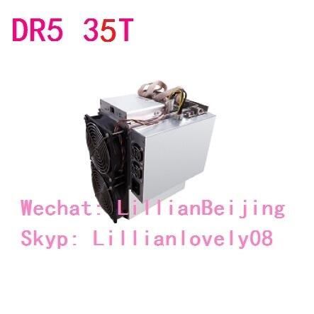 Netzwerk-switches Praktisch Bitmain Antminer Dr5 35 T Blake256 Decred Miner Dcr Bergbau Maschine Mit Bitmain Netzteil Das Ganze System StäRken Und StäRken