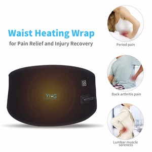 Image 4 - Electric Heating Waist Pad Waist Warmer Corset Belt Women Period Low Back Pain Relief Lumbar Support Bandage Uterus Warmer Belt