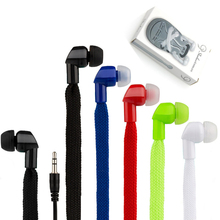 Shoelace Earphones Super Bass Sports Headphones Stereo Music Headset Running Earbuds Earphone With Mic for   Iphone/Samsung