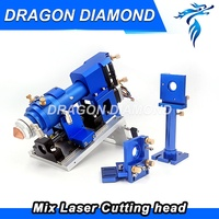 500W CO2 Laser Cutting Metal Machine Head and Non metal Mixed Cut head Motor And Driver for Laser Cutting Machine Laser Tools