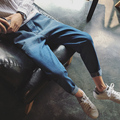 2017 spring summer retro art van gradient washing harlan version type small pure and fresh and small foot straight jeans casual