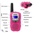 2PCS Kids RT-388 Walkie Talkie Toys For Children 0.5W 22CH Two Way Wireless Portable Radio Transmitter Boys Girls Brithday Gift