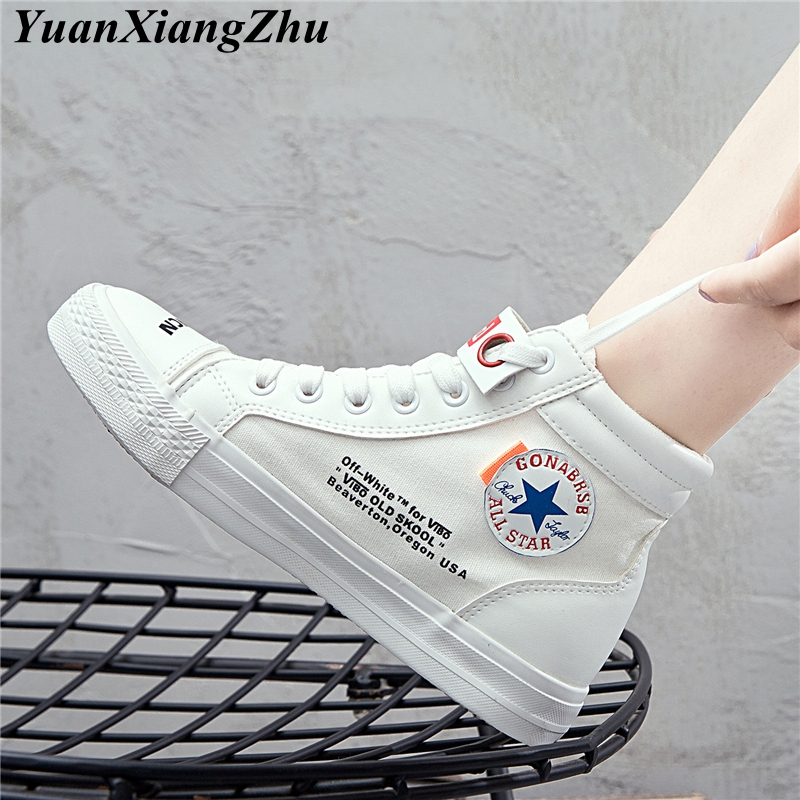 2018 Vulcanize Shoes Harajuku Sneakers Basket Femme Casual Shoes tenis feminino High Top Flat Shoes Trainers Women Zapatos Mujer стоимость