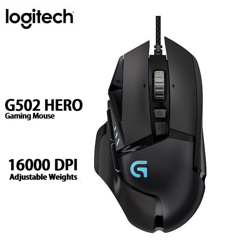 Logitech G502 RGB /G502 HERO LIGHTSPEED Wireless Gaming Mouse Professional E-sports Gaming Mouse