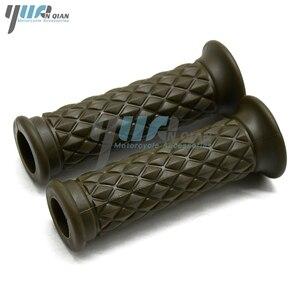 """Image 2 - YUANQIAN 7/8"""" 22mm Motor Rubber Handlebar Hand Grips For honda CBR1000RR Cbr 600  PCX125 150 250 MSX 125 200 400 MSX125 HORNET"""