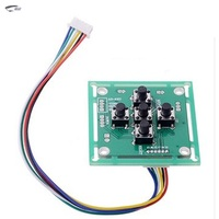 Firstshark Mini OSD Control Panel Board For 700TVL Sony Ccd Fpv Camera OSD Menu Key Button