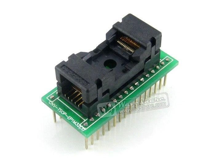 TSOP32 TO DIP32 A TSSOP32 Enplas IC Test Socket Programming Adapter 0 5mm Pitch