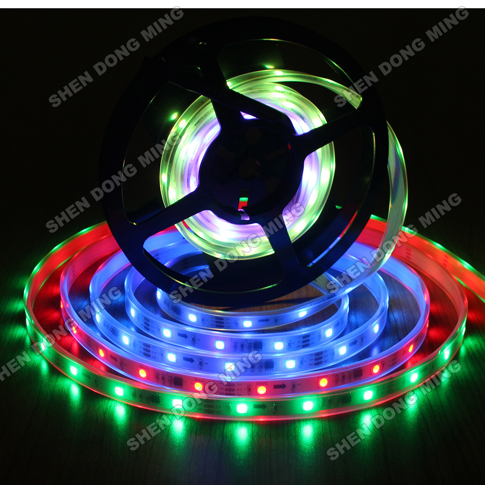 Free fedex smd5050 rgb led pixel strip ws2811 ip67 waterproof free fedex smd5050 rgb led pixel strip ws2811 ip67 waterproof flexible led ribbon strip 60leds 20ic m in led strips from lights lighting on aliexpress aloadofball Choice Image