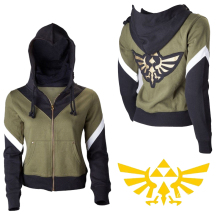 Luogen The Legend of Zelda Hooded Hoodie Sweatshirt Zipper Jacket Casual Coat Game