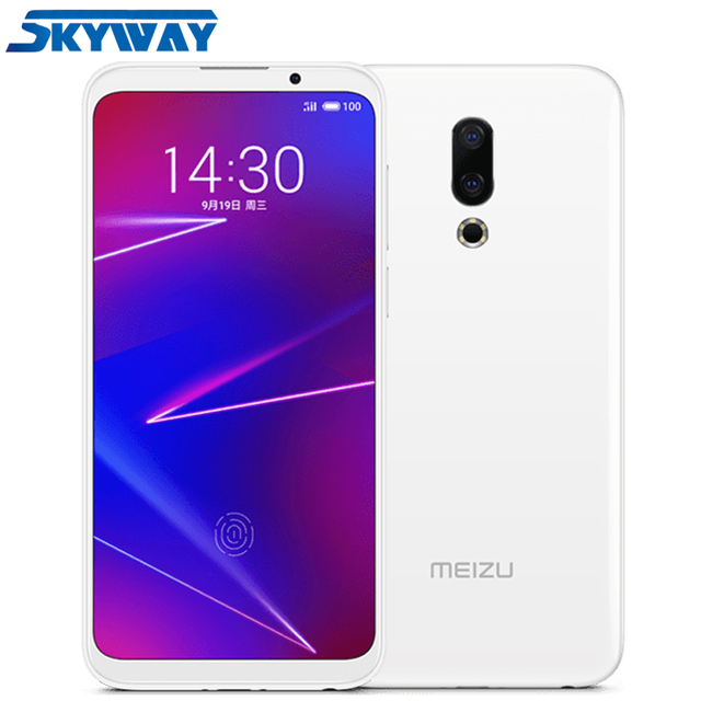 "Original Meizu 16X 4G LTE 6GB 64GB Cell Phone Snapdragon 710 Octa Core 6.0"" 2160x1080P Full Screen Dual Rear Camera"
