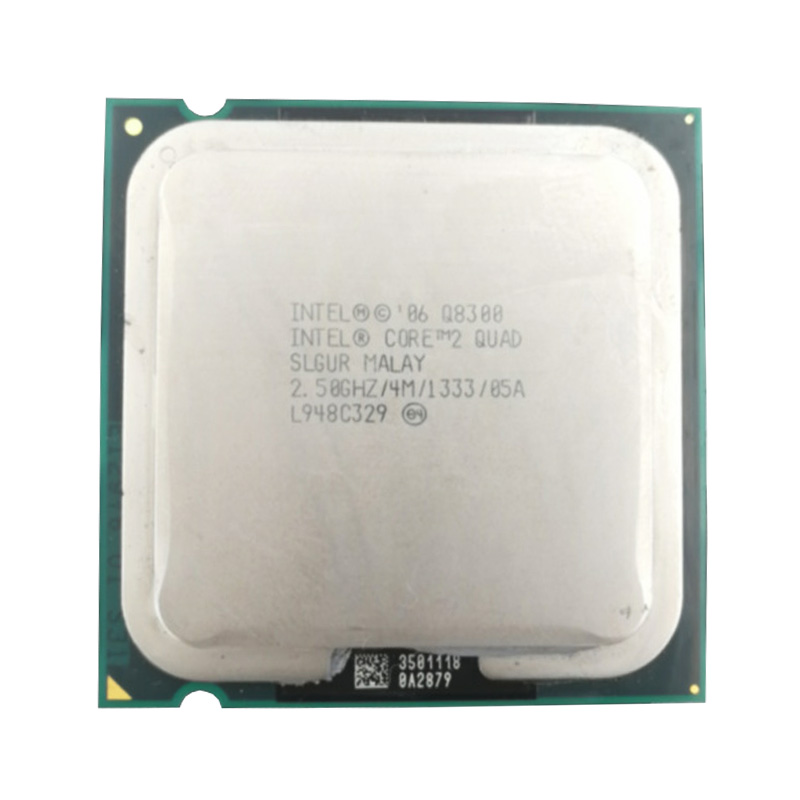 Intel Core 2 Quad Q8300 2.5Ghz/ 4M Socket 775 CPU Processor