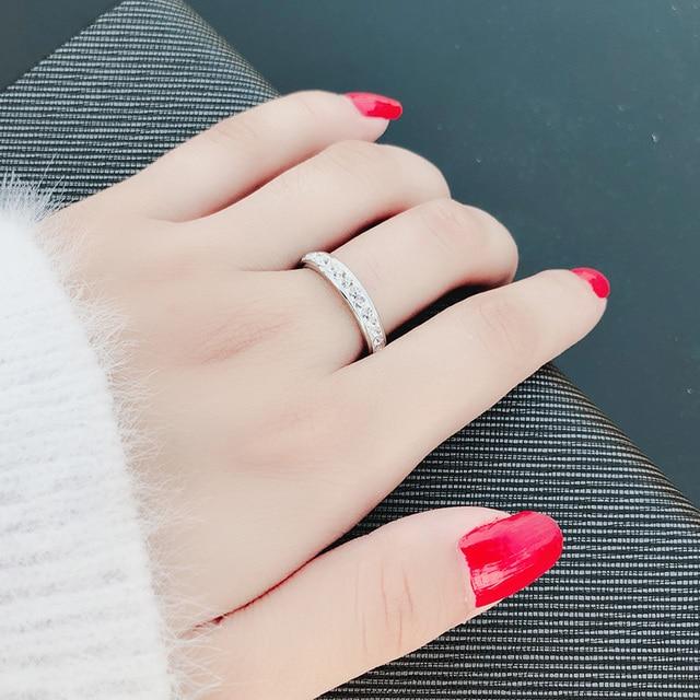 Фото женские кольца из нержавеющей стали dotifi серебряное/золотое