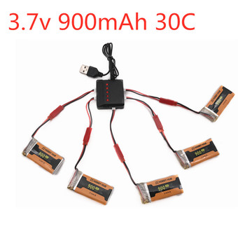902555 3.7V 900mAh 30C lipo Battery Charger For 8807 8807W A6 A6W Rc Quadcopter Spare Parts Accessories Rc Drones 3.7V Battery image