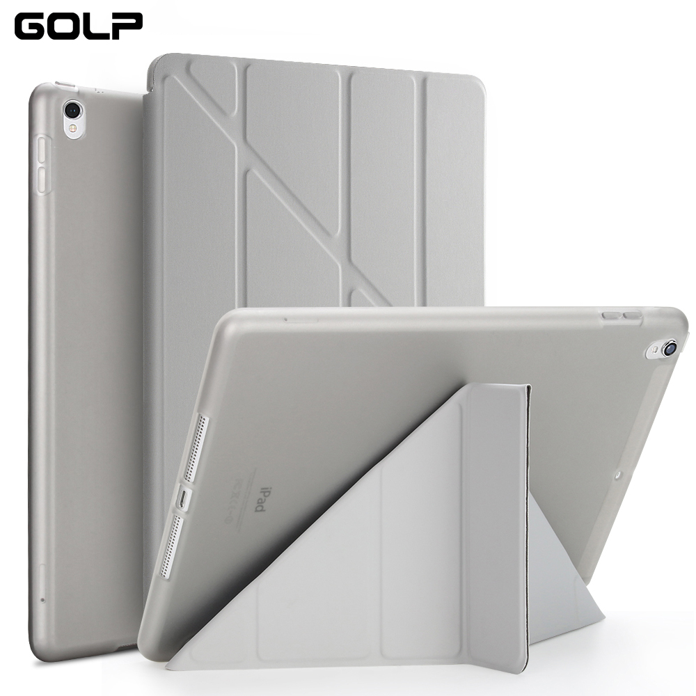 PU Leather Case For iPad Pro 10.5 inch 2017 Ultra Thin Smart Cover Case For iPad Pro 10.5 Soft Case Silicon Cases +protector sd new ultra thin sleeve case for ipad pro 12 9 pu leather case bag protective case for apple ipad pro 12 9 inch tablet cover