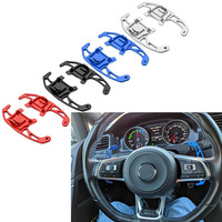 For VW GOLF GTI R GTD GTE MK7 7 For POLO GTI Scirocco 2014 2015 2016 2018 Car Steering Wheel Paddle Shift Extend Shifter 2Pcs