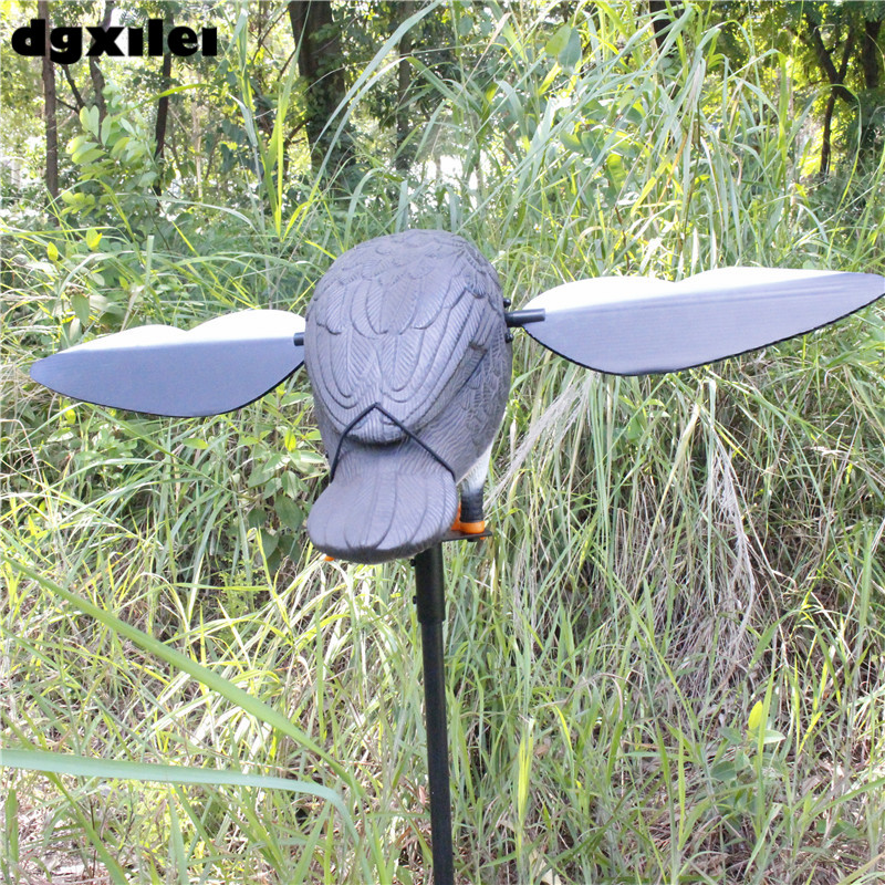 Dc 6V Plastic Mojo Motorized Hunting Decoy Duck With Remote new product 2017 plastic hunting duck decoy garden decoration motorized duck signal