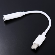 100PCS USB 3.1 Type C  to AUX  3.5mm Earphone Cable Audio Adapter Converter Cable For Letv LeEco Le2/Le 2 pro/Le Max 2