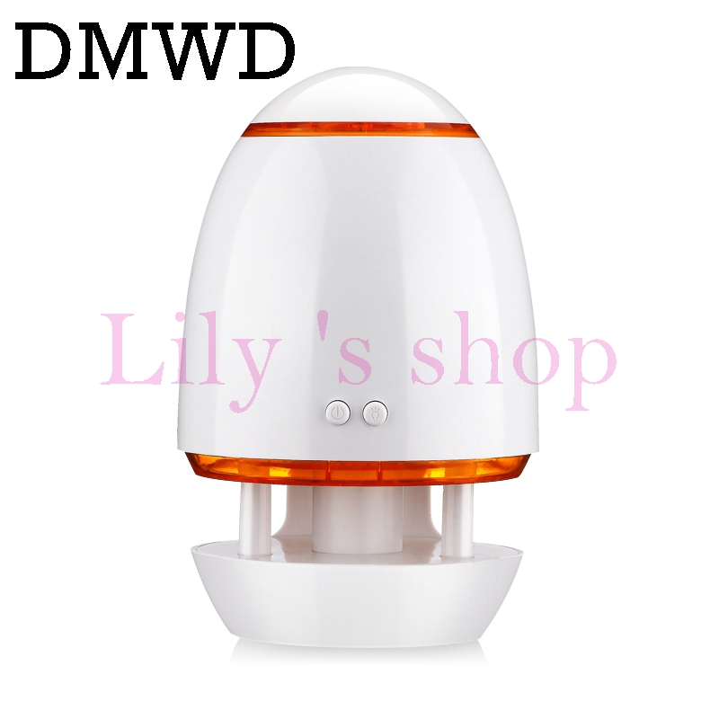 DWMD MINI Ultrasonic Humidifier Essential Oil Diffuser 5V USB Aroma Car Air Purifier Portable Lamp Aromatherapy Mist Maker 300ml