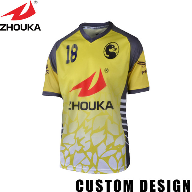 Custom Soccer Wolf Tshirt Jersey Type Shirts