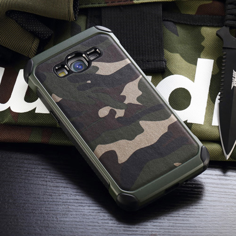 Army Camo Camouflage Pattern back cover TPU Armor Anti-knock protective case For Samsung Galaxy Grand Prime G530 G531 G531H