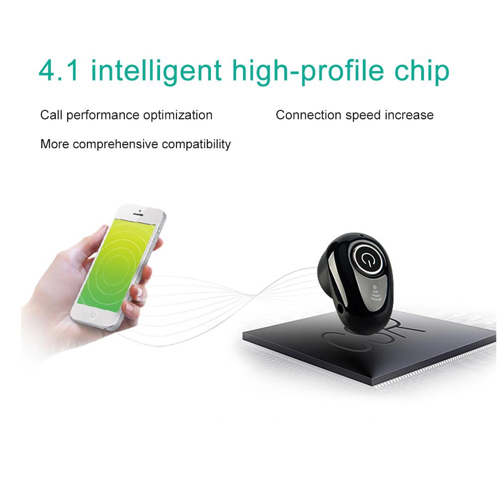 S650 Mini Bluetooth Earphones Wireless Headphones Headset wint Mic Earbuds for xiaomi iphone huawei (10)