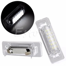 2X 18 LED FOR Benz W210 W202 4D LICENSE PLATE LIGHT ERROR FREE SIGNAL LAMP