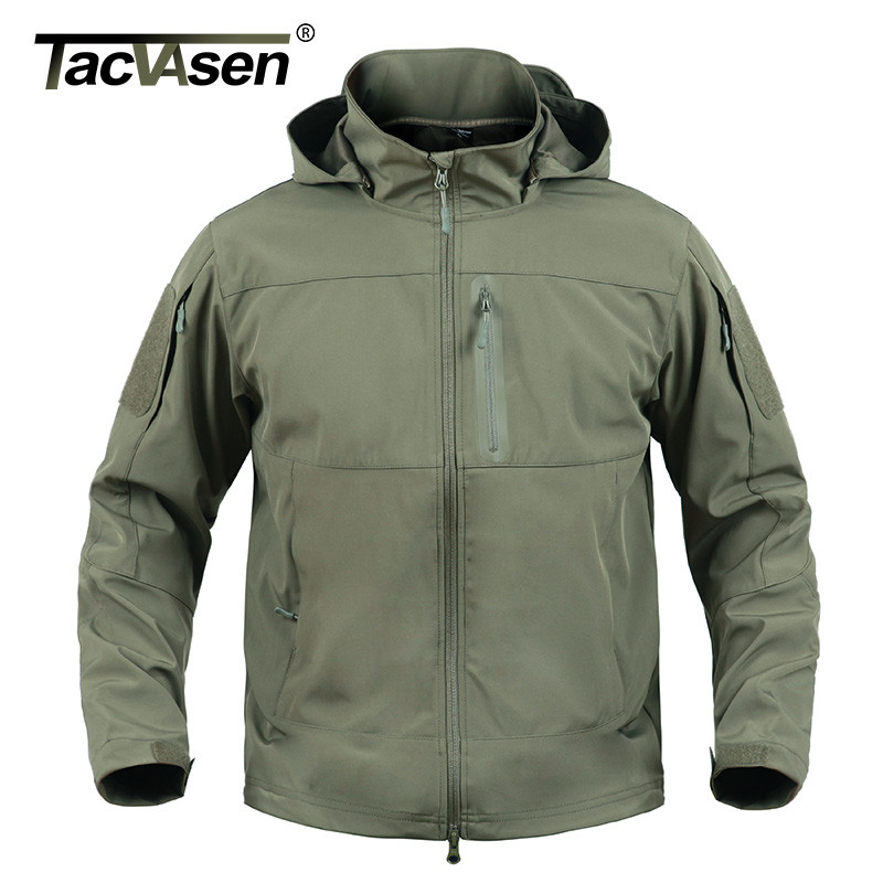 TACVASE New Men Tactical Jacket Military Army Elastic Soft Shell Jackets Men Waterproof Camouflage Jacket Coats Man TD-YCXL-024 lurker shark skin soft shell v4 military tactical jacket men waterproof windproof warm coat camouflage hooded camo army clothing