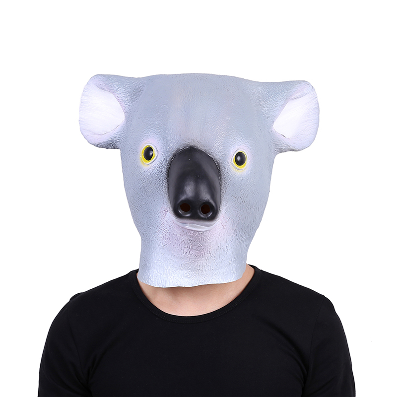 2018 New Koala Head Full Face Mask Halloween Gifts Eco ...