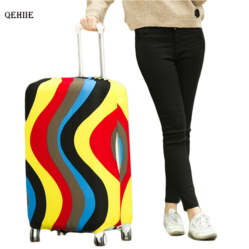 Fashion Travel Suitcase Protective Covers For 20-29inch,Trolley Luggage Accessories Case Cover,Dust Cover,Travel Accessories,H35