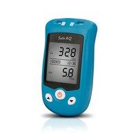 SINOCARE sannuo mmol/L Safe UG Blood Glucose&Uric Acid Meter&Test strips&Lancets Blood Sugar Detection Diabetic medical Meter