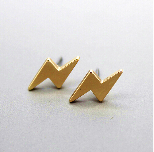Timlee E155 Free shipping Cute Lightning Studs Earrings wholesale