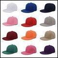 Snapback Cap Цвета Мужская Обычная Бейсболка Хип-Хоп Регулируемая Eaked Hat Visor 013