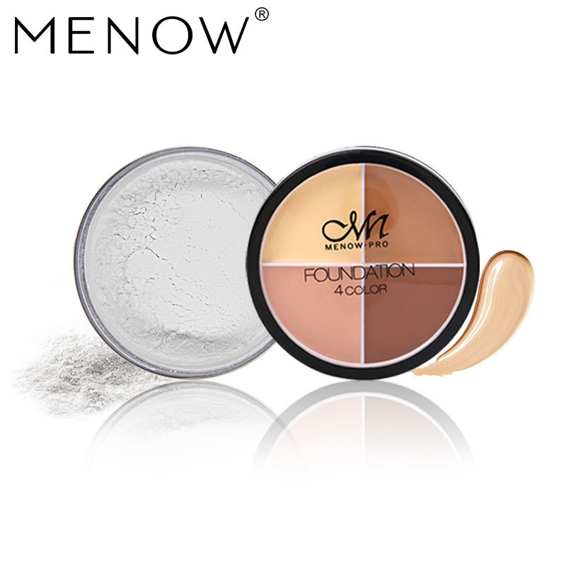 Hot selling four color Concealer + oil control breathable makeup free shipping