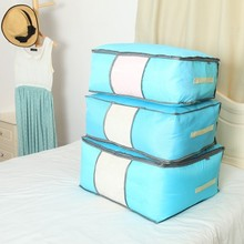 1pcs Useful quilt bag With window  commoner quilt storage bag free shipping