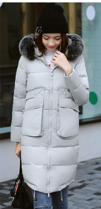 70 2018 Veste Blanc Canard Inverno Vers Le Taille Outwear light Vestes Bas Chaud Blue Tcyeek Gray Feminina Manteau 4xl Femmes La black Jaqueta Hiver Gris Plus 8zvxnd