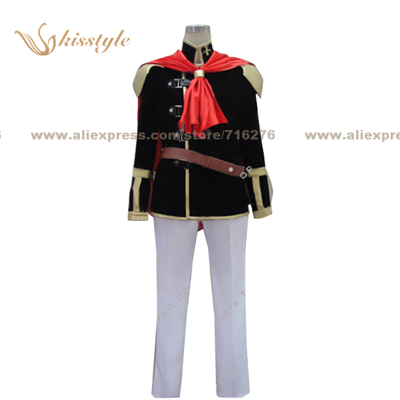 Kisstyle Fashion Final Fantasy Type 0 Boy Uniform COS Clothing Cosplay Costume,Customized Accepted