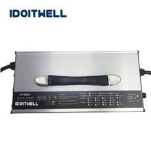 Индивидуальные 100A 90A 80A регулируемое зарядное устройство 12 в ток 3 этапа Регулируемый 12 В батарея пакет зарядное устройство для литий-ионный lipo кислоты
