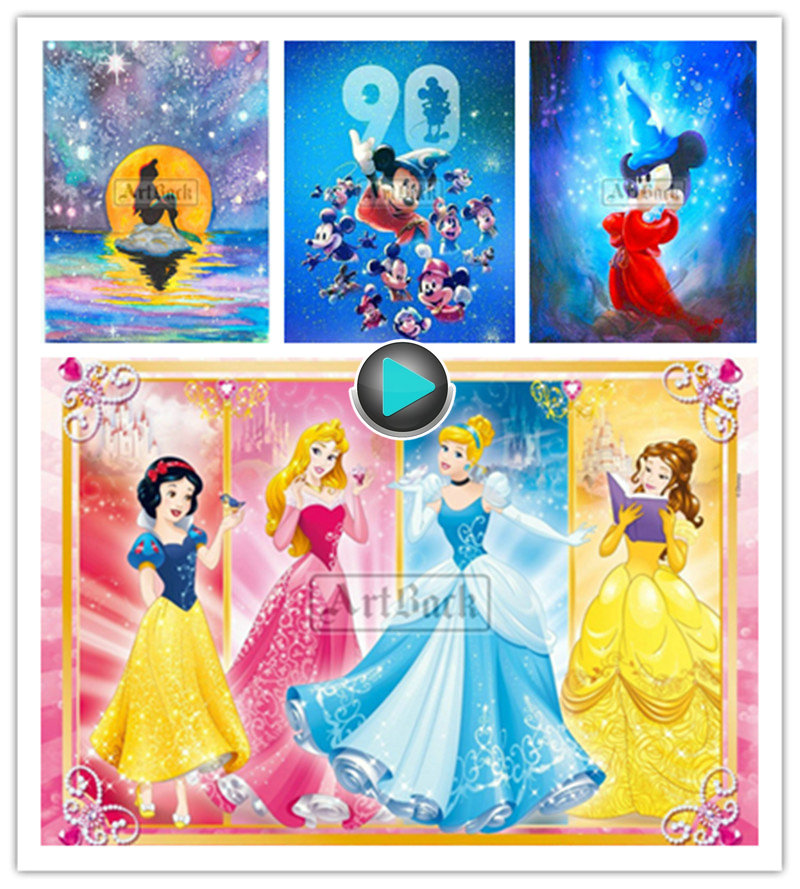 Cheap For All In House Products 5d Diamond Painting Disney In Full Home