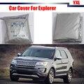Completo Cubierta Del Coche Anti-Ultravioleta Dom Lluvia Nieve Resistente Protector Cubierta Sun Shade Para Ford Explorer